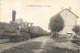 PERSAC . LA GARE ET TRAIN - Altri Comuni