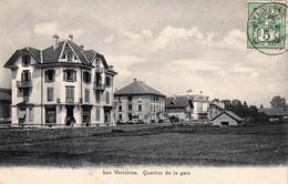 SUISSE- Les Verrières (NE) - 3 CPA  Dont 1 Couleurs. Les 3 CP Ont Circulé. TB état. 3 Scan - NE Neuchâtel