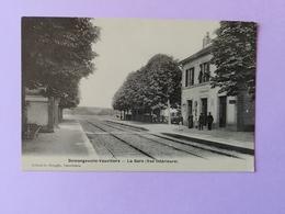 Demangevelle Vauvillers La Gare  Vue Intérieure  Carte Photo Haute Saône Franche Comté - France