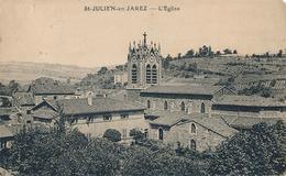 SAINT JULIEN EN JAREZ - L'EGLISE - Autres Communes