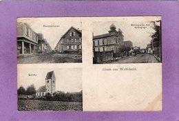 67 Gruss Aus Wolfisheim Hauptstrasse Mitelgasse Mit Synagoge Kirche - Andere Gemeenten