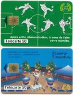 L4d) 2 Télécartes (50) France 1998 - 1998
