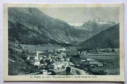 LA THUILE- GHIACCIAIO  DEL RUITOR E GRANDE ASSALY - VIAGGIATA FP - Aosta