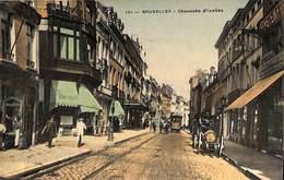 Bruxelles - Chaussée D'Ixelles (top Animation, Colorisée Tram Tramway, Edit Grand Bazar Anspach) (prix Fixe) - Ixelles - Elsene