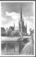 Nederland Holland Pays Bas Woerden RK Kerk Met Rijn - Woerden