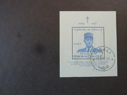 RWANDA, Année 1971, Bloc-Feuillet YT N° 23 Oblitéré - Rwanda