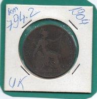 United Kingdom Of Great Britain 1 Penny 1904  Km-794.2   Perfetta - 1816-1901: 19. Jh.
