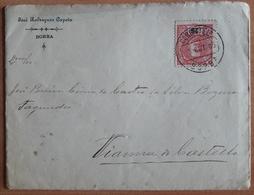 Portugal - COVER - Stamp: 25 Reis D. D. Carlos I (1905) - Cancel: Borba - JOSÉ RODRIGUES CAPETO - 1910 : D.Manuel II