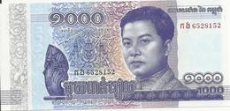 CAMBODGE 1000 RIELS 2016 UNC P 67 - Cambodja