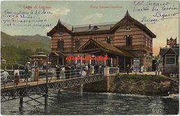 Lago Di Lugano - Porto Ceresio Stazione - 1908 - Varese