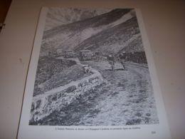 CYCLISME COUPURE LIVRE T233 TdF1929 PANCERA Et CARDONA Dans Le COL Du GALIBIER - Sport