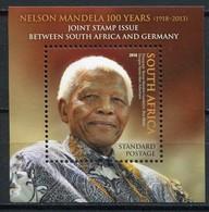 Südafrika Mi# Block 160 Postfrisch/MNH - Mandela 100. Birthday - Ohne Zuordnung