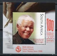 Südafrika Mi# Block 2018? Postfrisch/MNH - Mandela 100. Birthday - Ohne Zuordnung