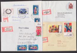 Lot Briefe Konstanz Stuttgart Braunschweig Lindenberg Allgäu, Je Auf R-Bf, Hedda Gablerr, Hermine Körner Macbeth - Lettere