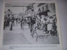 CYCLISME COUPURE LIVRE T365 TdF 1948 RAVITAILLEMENT à MERU Robert CHAPATTE - Deportes