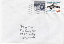 Greenland. Letter Send To Denmark 1997 - Briefe U. Dokumente