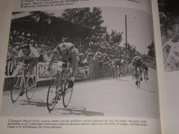 CYCLISME COUPURE LIVRE T442 TdF 1956 VELODROME La ROCHELLE Miguel POBLET - Sport