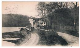 CPA MORLAIX Train Vapeur Au Dossen - Morlaix