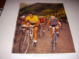 CYCLISME COUPURE LIVRE T512A COULEUR TdF Gastone NENCINI Jan ADRIAENSSENS - Sport