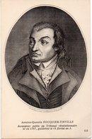 CÉLÉBRITÉS 70 : Antoine Quentin Fouquier Tinville Accusateur Public - Historical Famous People