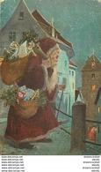 WW Lot 5 Cpa FANTAISIES. Bonne Année, Noël Fêtes, Femmes Hommes Enfants Couple, Fleurs Et Divers De 1900 à 1930... - Autres