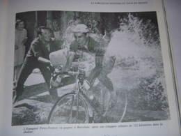 CYCLISME COUPURE LIVRE T547 TdF 1965 JET D'EAU Vers PEREZ FRANCES Sous CHALEUR - Deportes