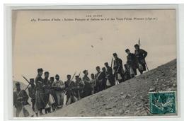 05 FRONTIERE ITALIE SOLDATS FRANCAIS ET ITALIENS COL DES TROIS FRERES MINEURS - Andere Gemeenten