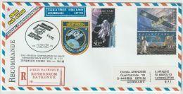 Kazachstan Enveloppe Space Station ISS  2001 Mi.nr. 247+248+342 - Kazajstán