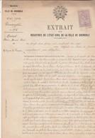 1917 Nompatelize / Identification Posthume Soldat MAIROT / Décédé Combat St Michel Sur Meurthe 27 Oct 14 / 88 Vosges - 1914-18