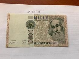 Italy Marco Polo Banknote 1000 Lire 1982 #1 - [ 1] …-1946 : Regno