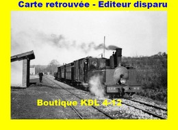 BVA 804-03 - Train MV - Loco Corpet Louvet 030 T N° 2 - Halte De La Boichaulle - POULANGY - CFN - France