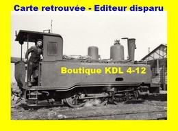 BVA 804-05 - Train - Loco Corpet Louvet 030 T N° 2 - NOGENT EN BASSIGNY - Haute-Marne - CFN - Nogent-en-Bassigny