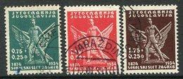 YUGOSLAVIA 1934 Zagreb Sokol Games, Used.  Michel 275-77 - 1931-1941 Königreich Jugoslawien