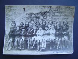 PHOTOGRAPHIE Ancienne : CLASSE D' ECOLE DE FILLE / PHOTO ANDRE DURIEUX à HYERES ( VAR ) - Publicités