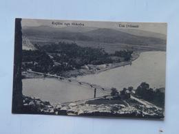 Shkoder Scutari Shkodra Skutari 186 Ed Marubbi 1917 Ura Drinazit - Albania