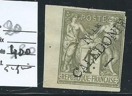 NOUVELLE CALEDONIE :  COLONIES FRANCAISES - N°20 - Neuf. Gomme Altérée. Cote : 400€. Petit Bdf. Signé Calves. - Ozeanien (1892-1958)