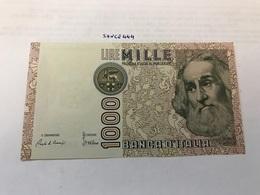 Italy Marco Polo Banknote 1000 Lire 1982 #2 - [ 1] …-1946 : Regno