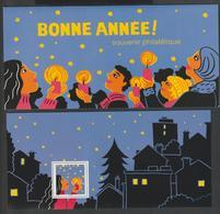 """Bloc Souvenir -  2015 -  N°113 -  """" Bonne Année  """"  -     Neuf   - - Blocs Souvenir"""