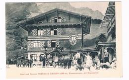 CH-5902   URIGEN / UNTERSCHÄCHEN : Hotel Und Pension Posthaus Urigen, ( Postkutsche, Stagecoach ) - UR Uri