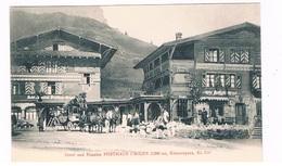 CH-5903   URIGEN / UNTERSCHÄCHEN : Hotel Und Pension Posthaus Urigen, ( Postkutsche, Stagecoach ) - UR Uri