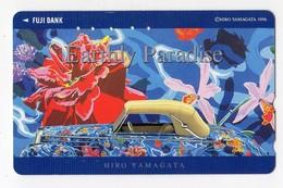 JAPON TELECARTE PEINTURE HIRO YAMAGATA 1996 - Painting