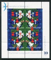 FINLAND 1999 Tuberculosis Charity Stamps,  Sheetlet Of Four. - Sonstige