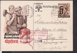 Ganzsache Deutsches Reich Stempel Orlau ( Oberschlesien ) 1941 - Allemagne