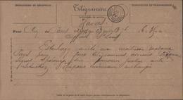Télégramme Agence HAVAS Conakry Guinée Française 28 Juil 98 Affaire Dreyfus Arrestation Esterhazy Antisémitisme Picquart - Historical Documents