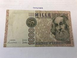 Italy Marco Polo Banknote 1000 Lire 1982 #3 - [ 1] …-1946 : Regno
