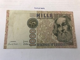 Italy Marco Polo Banknote 1000 Lire 1982 #3 - [ 1] …-1946: Königreich