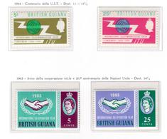 1965 -  GUIANA INGLESE  -  Mi. Nr.  232/235 - NH - (AS2302.42) - Guyana Britannica (...-1966)