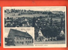 DJP-17 Welmlingen79588 Efringen-Kirchen Gasthaus Z. Hirschen. Briefmarke Fehlt, Gelaufen 1929 Nach Schweiz - Sonstige