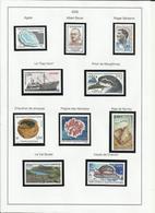 TAAF POSTE 2005 N° 404 à 434 Neuf ** Carnet - Années Complètes