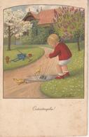 "Illustration Illustrateur Pauli Ebner  "" Catastrophe ! "" - Ebner, Pauli"